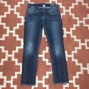 Silver jeans W28 Suki Straight medium wash jeans
